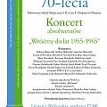 Zapraszamy na Koncert Jubileuszowy do Państwowej Szkoły Muzycznej I i II stopnia w Olsztynie!