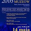 Europejska Noc Muzeów w Domu