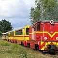 Kolej Wąskorotowa w Ełku