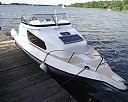 CZARTER łódź motorowa bez patentu GALIA wynajem Mazury motorówka